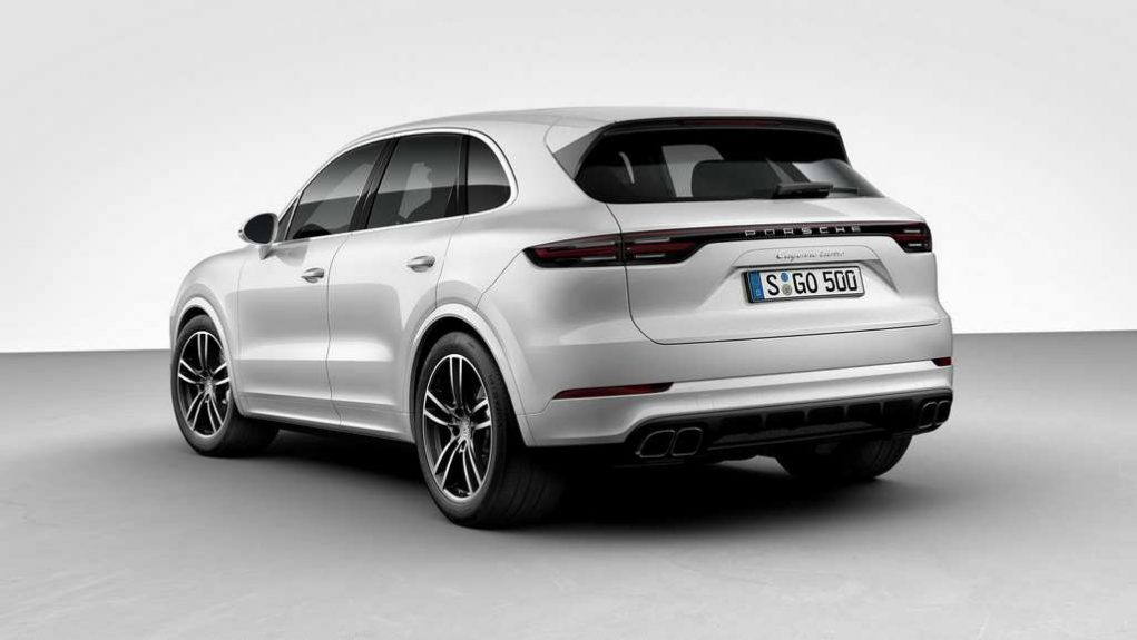 India-Bound 2018 Porsche Cayenne Turbo 1
