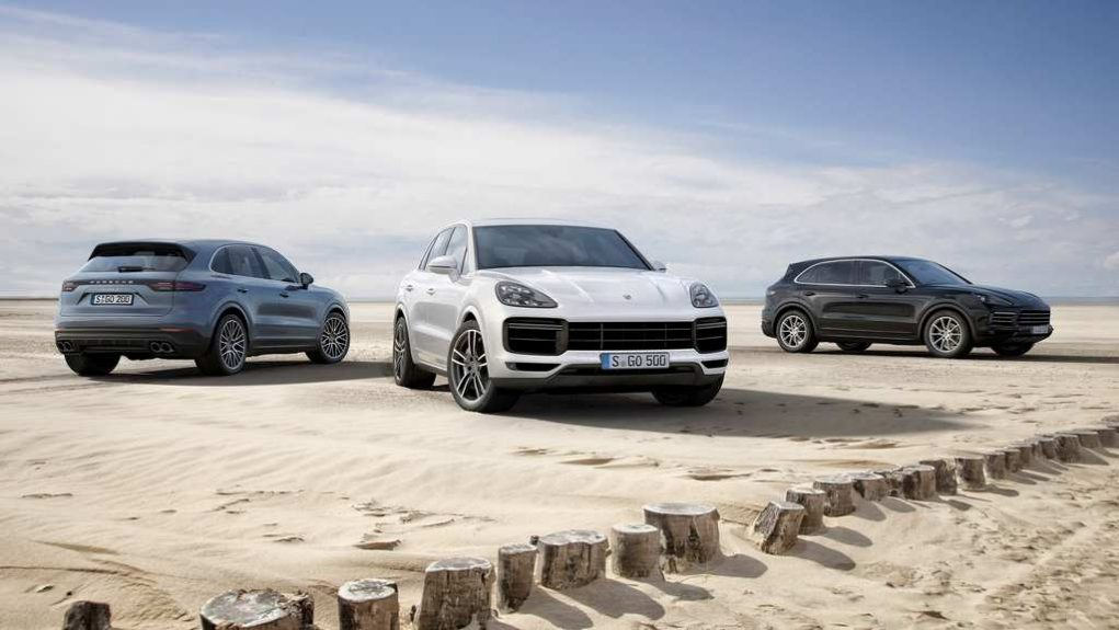 India-Bound 2018 Porsche Cayenne Turbo 2