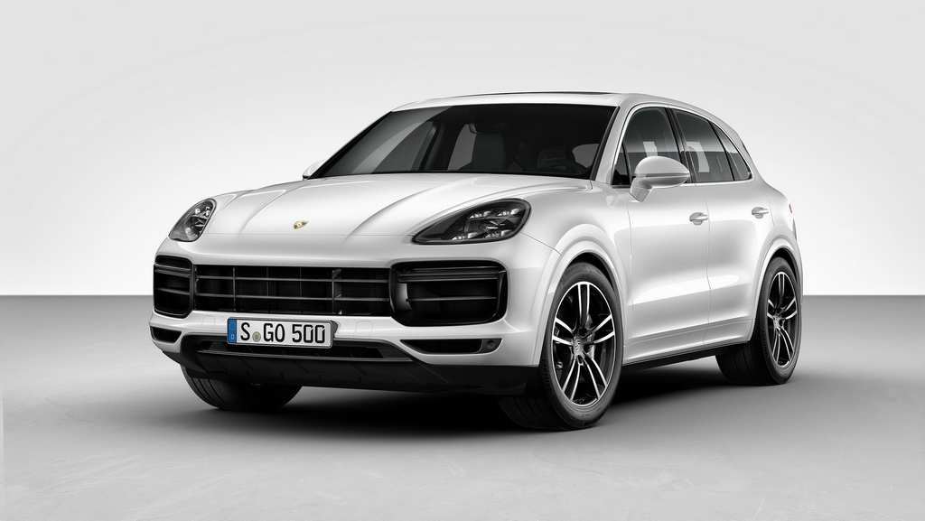 India-Bound 2018 Porsche Cayenne Turbo