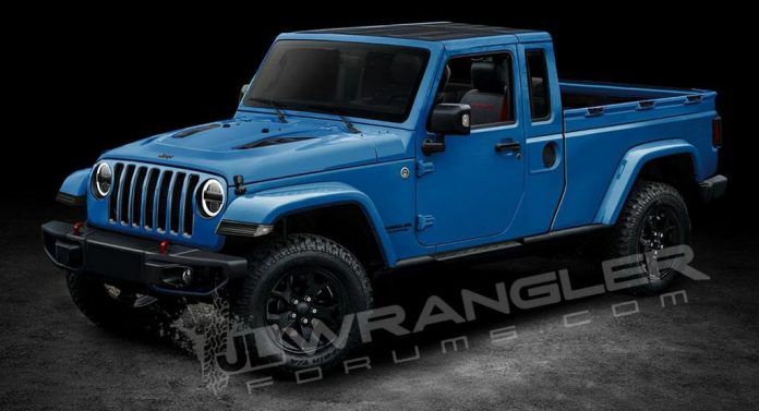 Jeep Scrambler Is The Name Of Wrangler-Based Pickup Truck