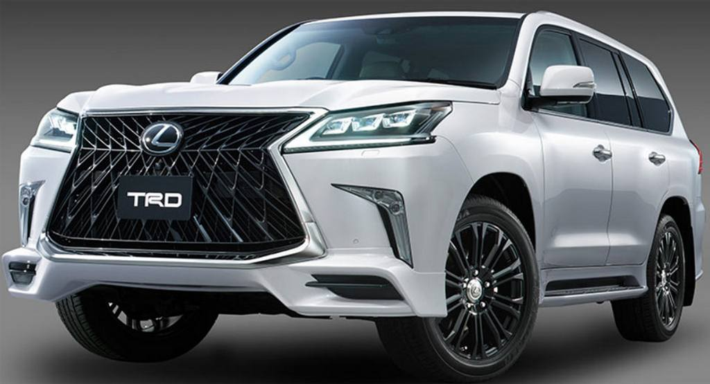 Lexus Lx Superior Trd Body Kit on 2017 Lexus Lx Redesign