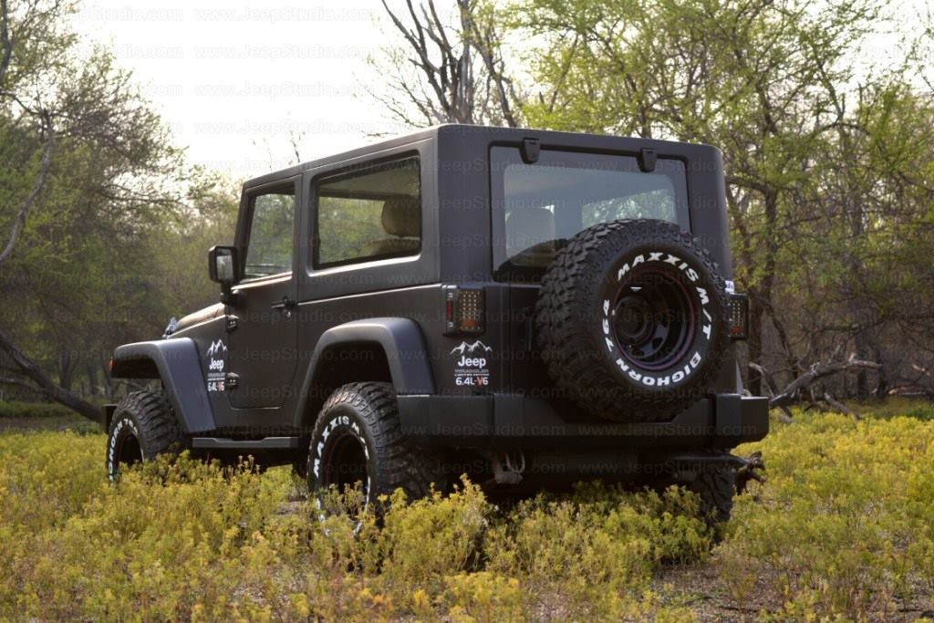 Mahindra Thar Customised Stunningly Into A Jeep Wrangler