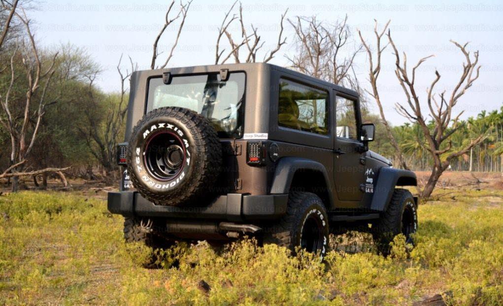 Mahindra Thar Customised Stunningly Into A Jeep Wrangler