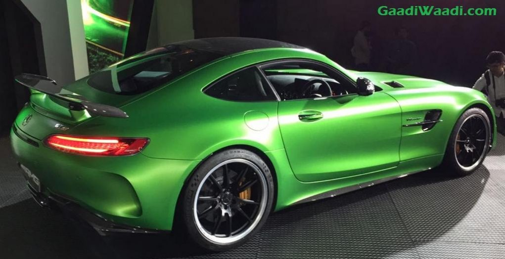 mercedes amg gt r launched in india price specs features engine. Black Bedroom Furniture Sets. Home Design Ideas
