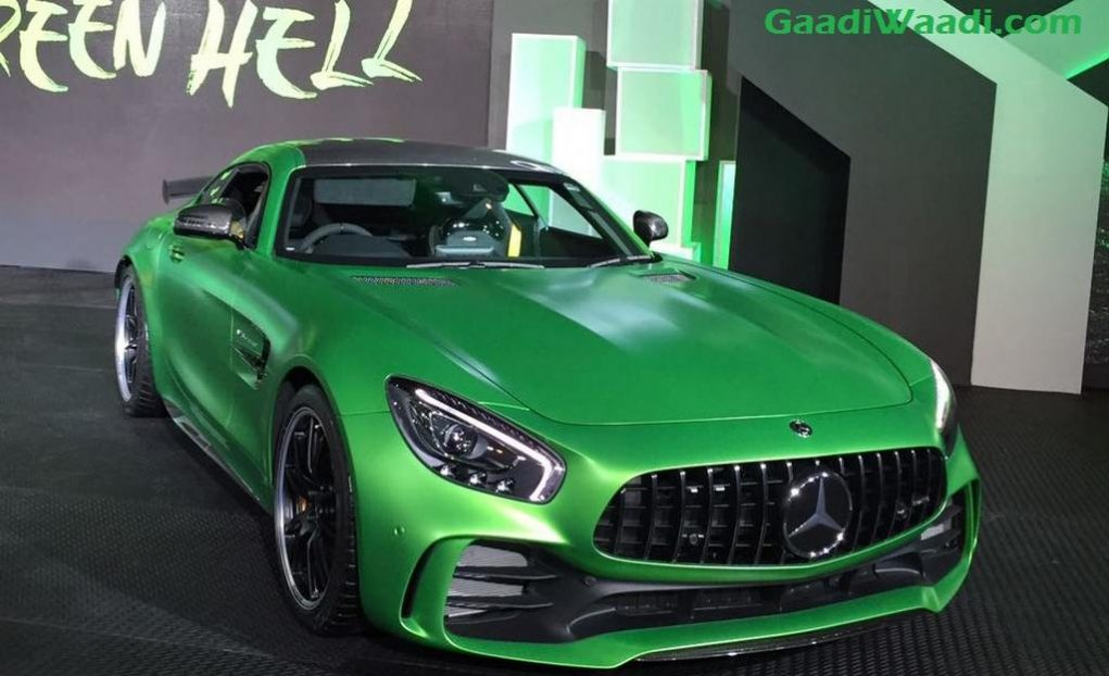Mercedes-AMG GT R Launched in India Price Specs Engine Features Top Speed 8