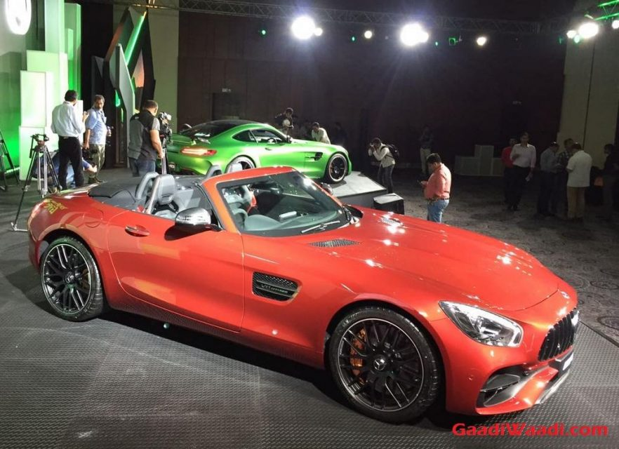 mercedes amg gt roadster launched in india price specs features. Black Bedroom Furniture Sets. Home Design Ideas