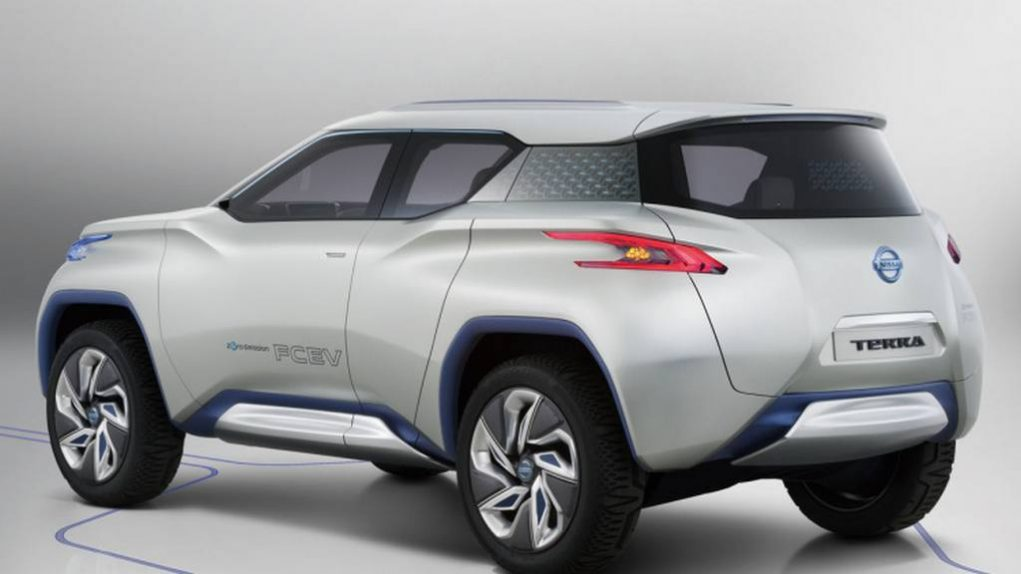 Nissan Terra Electric SUV Concept 1