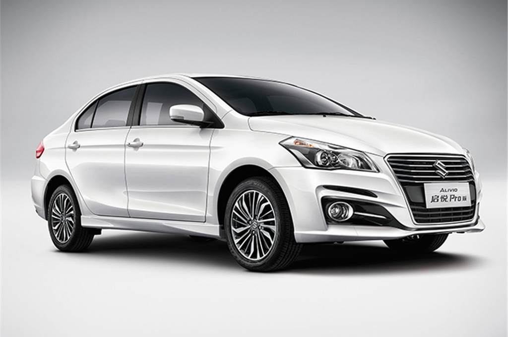Suzuki Alivio Pro Maruti Ciaz Facelift Officially