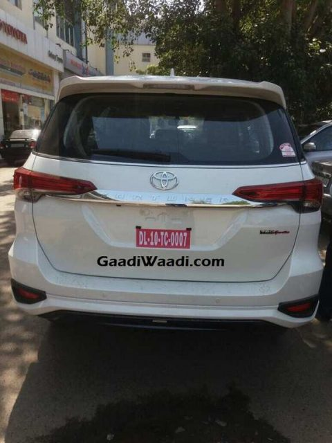 Toyota Fortuner TRD Sportivo Launched In India - Price, Specs, Interior, Features 1