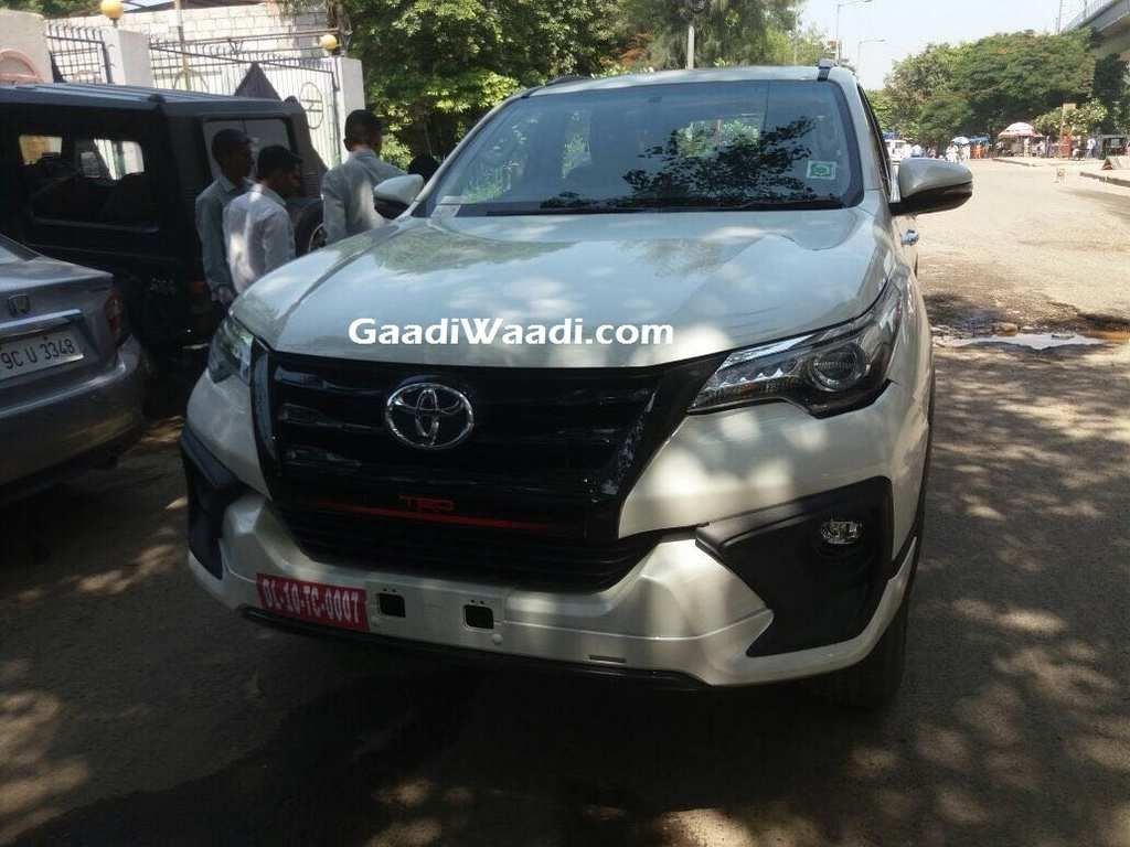 Toyota Fortuner Trd Sportivo Launched In India Price
