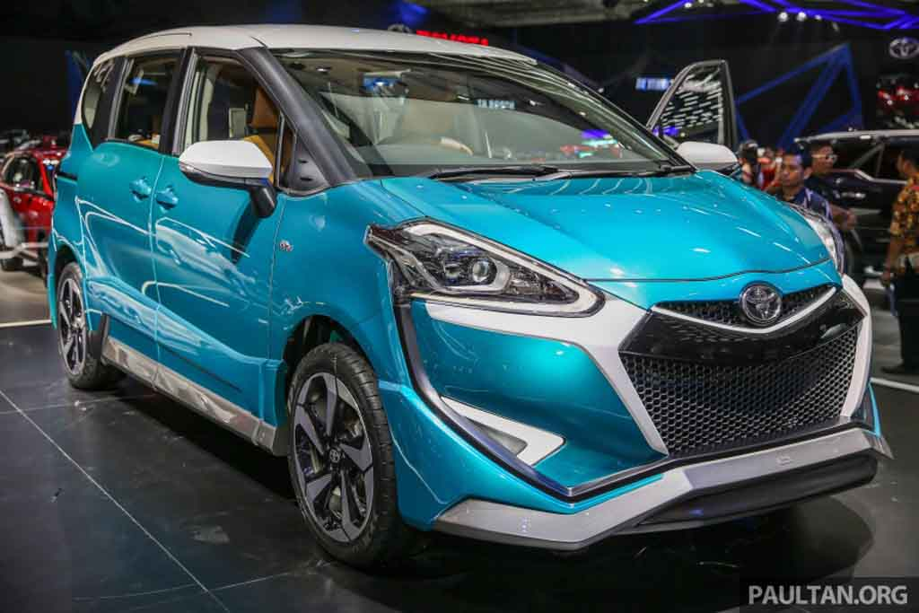 Toyota Sienta Ezzy Introduced At Giias 2017