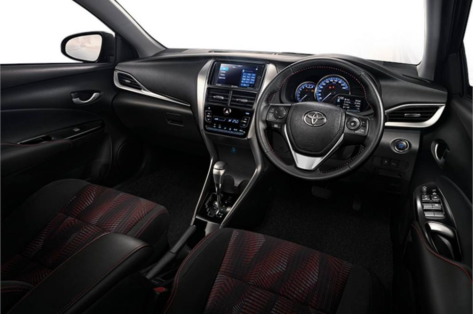 Toyota Yaris Ativ Sedan Interior