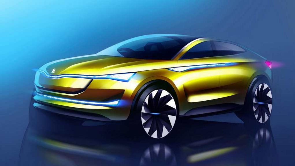 Updated Skoda Vision E Concept