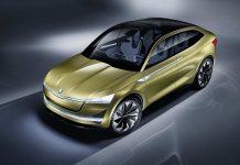 Updated Skoda Vision E Concept Frankfurt Motor Show 2017 1