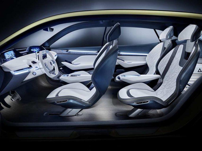 Updated Skoda Vision E Concept Frankfurt Motor Show 2017 8