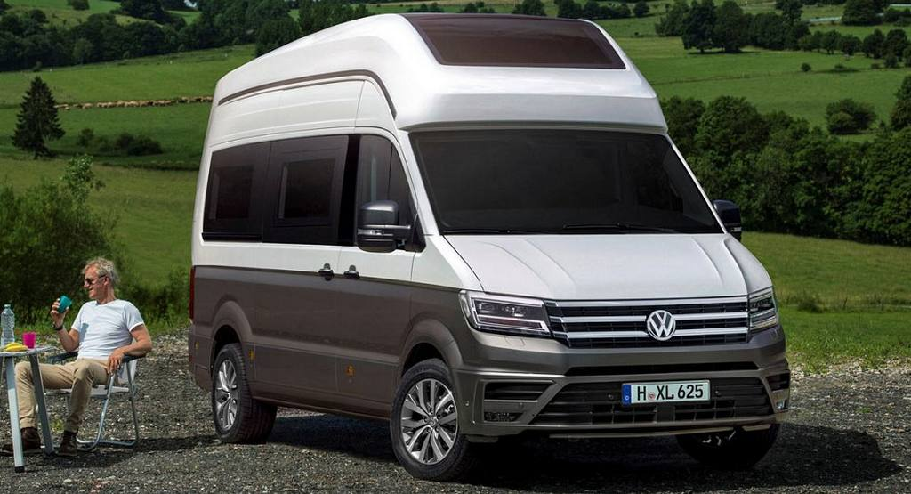 volkswagen california xxl concept motorhome breaks cover. Black Bedroom Furniture Sets. Home Design Ideas