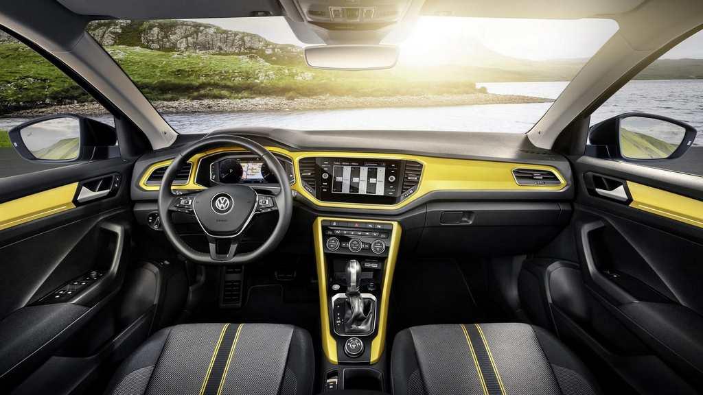 Volkswagen T-Roc Compact SUV Interior