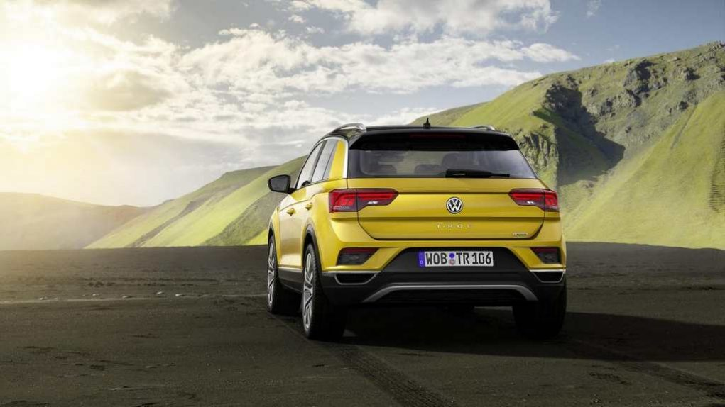 Volkswagen T-Roc Compact SUV Launched 2