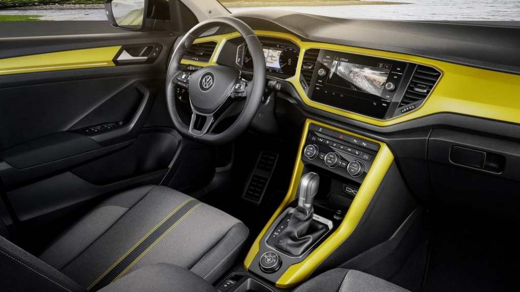 Volkswagen T-Roc Compact SUV Launched Interior 1