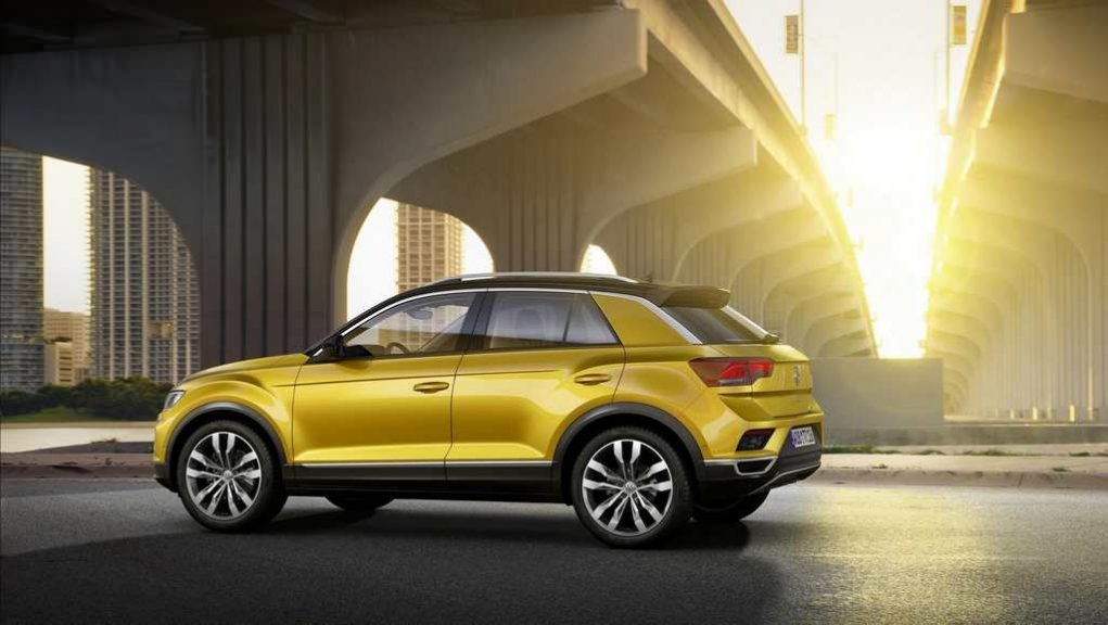 Volkswagen T-Roc Compact SUV Launched Side Profile
