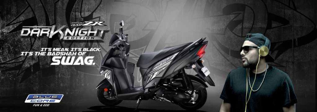 Yamaha Cygnus Ray ZR Dark Night Variant