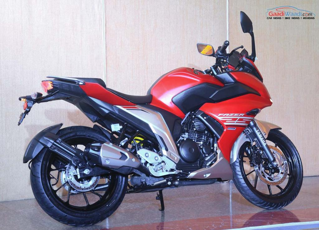yamaha fazer 25 launched in india price specs features pics. Black Bedroom Furniture Sets. Home Design Ideas