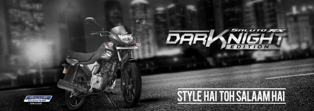Yamaha Saluto RX Dark Night Variant