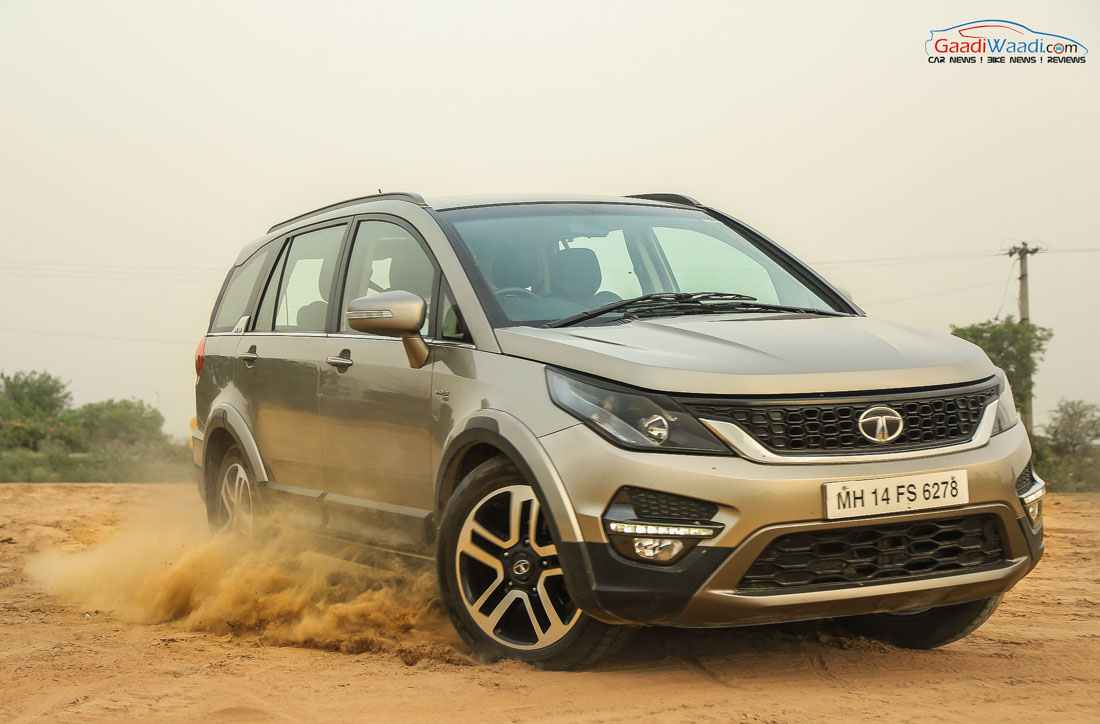 Gst Hike Tata Hexa Becomes Pricier By Up To Rs 96 000