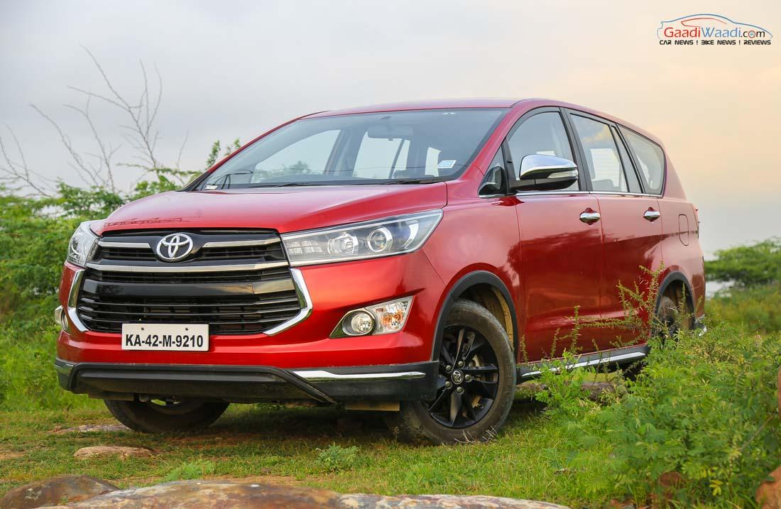 Exclusive Toyota Innova Touring Sport To Get Mild Hybrid