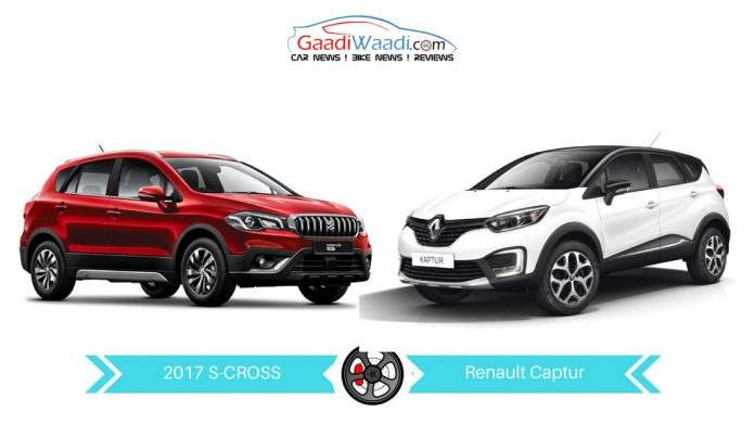 2017 maruti s-cross vs Renault captur