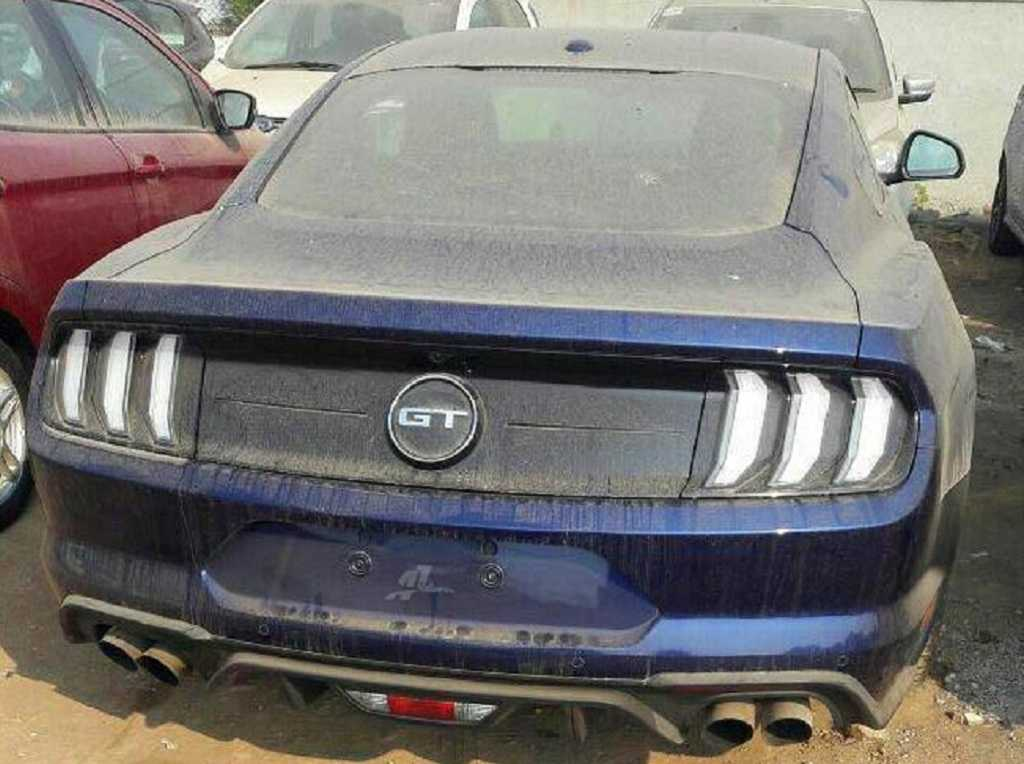 2018 Ford Mustang Facelift India Launch Price Specs Features Pics