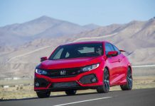 2018 Honda Civic Si Coupe (honda civic diesel nine speed automatic)