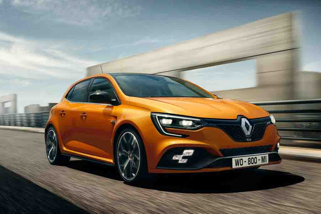 276 bhp renault megane rs hot hatchback unveiled. Black Bedroom Furniture Sets. Home Design Ideas