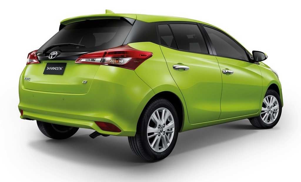 2018 Toyota Yaris Hatchback Thailand New Car Release
