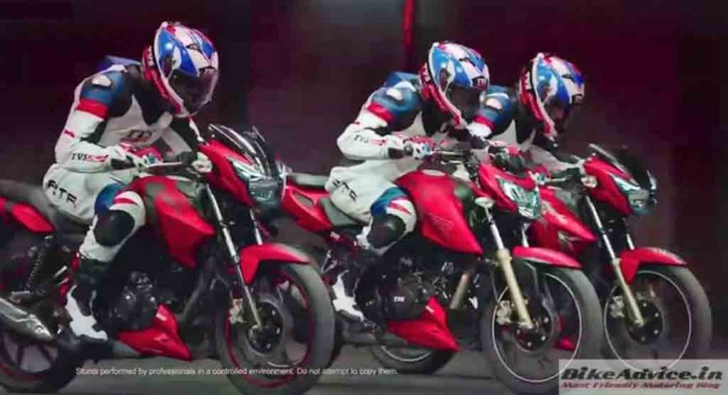 Tvs Apache Rtr 160 And Rtr 180 To Get New Matte Red Colour