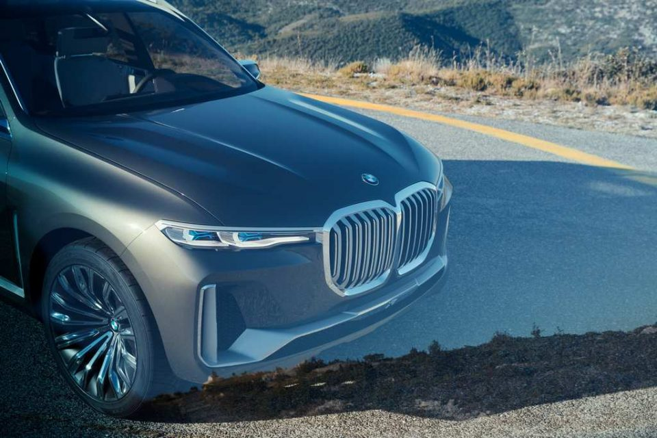 BMW X7 iPerformance Concept Front