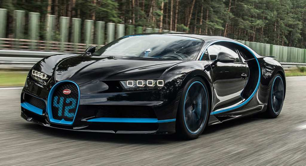 Bugatti Chiron Sets 0-400-0 kmph World Record With Juan Pablo Montoya