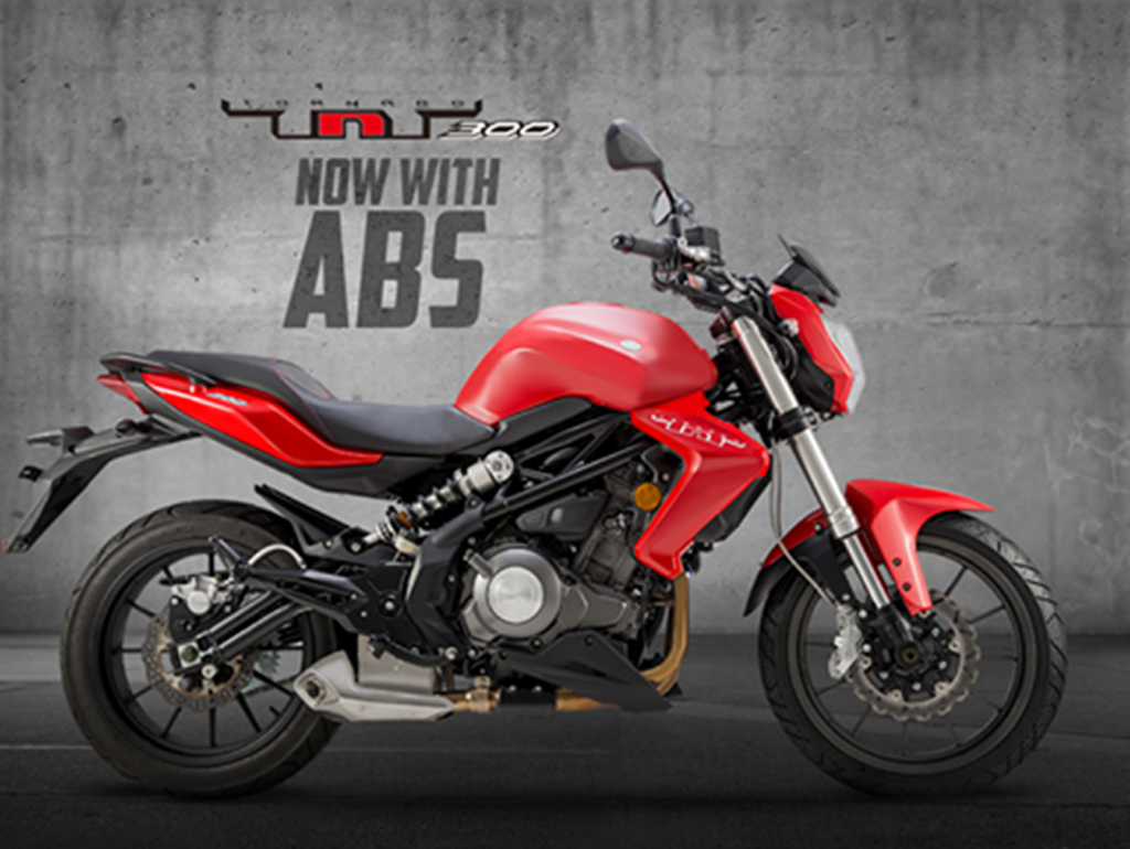 DSK Benelli TNT 300 ABS Launched In India
