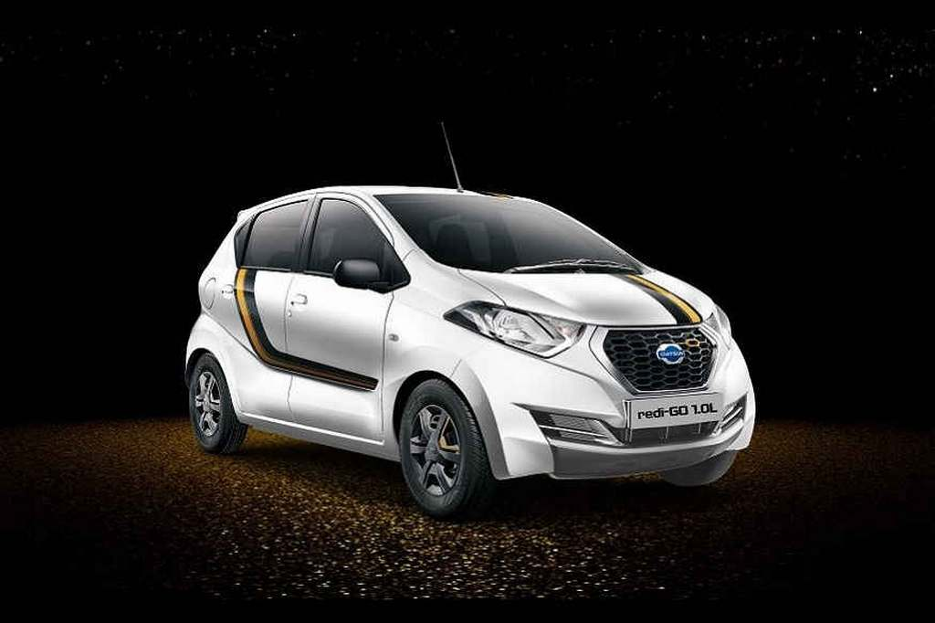 Datsun Redi-GO Gold Edition Launched In India - Price ...