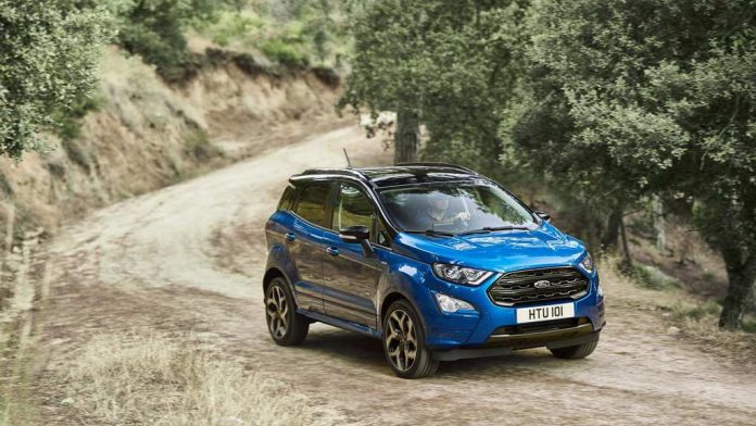 Euro-Spec 2018 Ford EcoSport Facelift