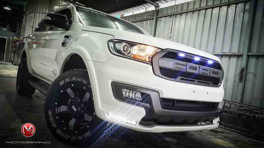 Ford Endeavour Customised Taking Inspiration From F 150