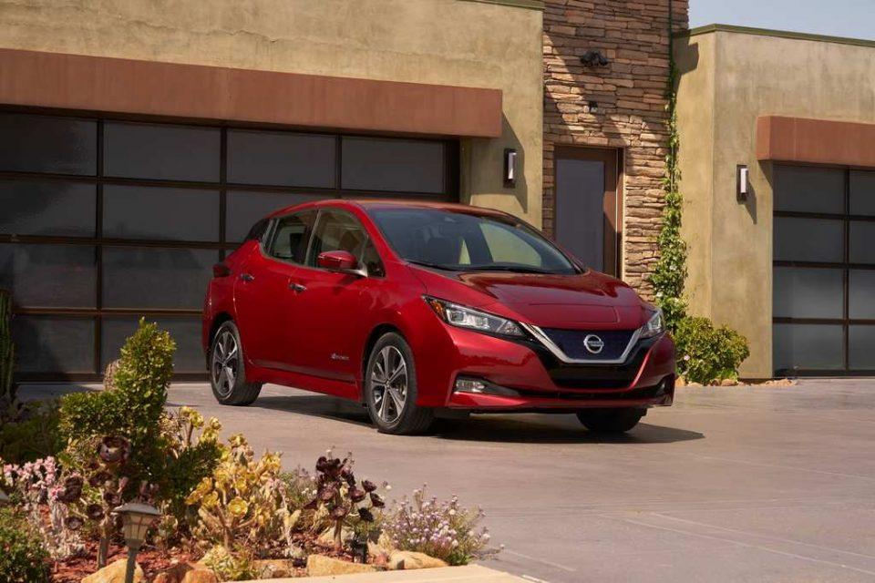 India-Bound Nissan Leaf Revealed 1