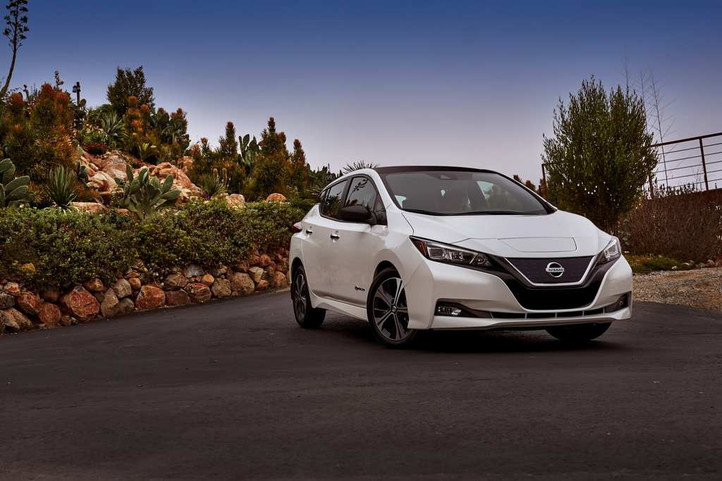 India-Bound Nissan Leaf Revealed 3