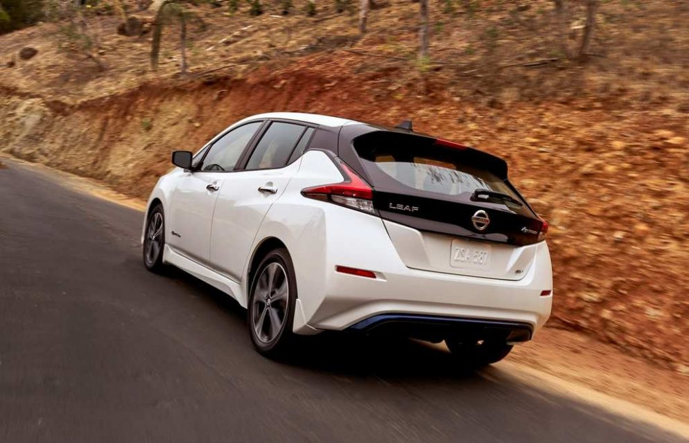 India-Bound Nissan Leaf Revealed 4