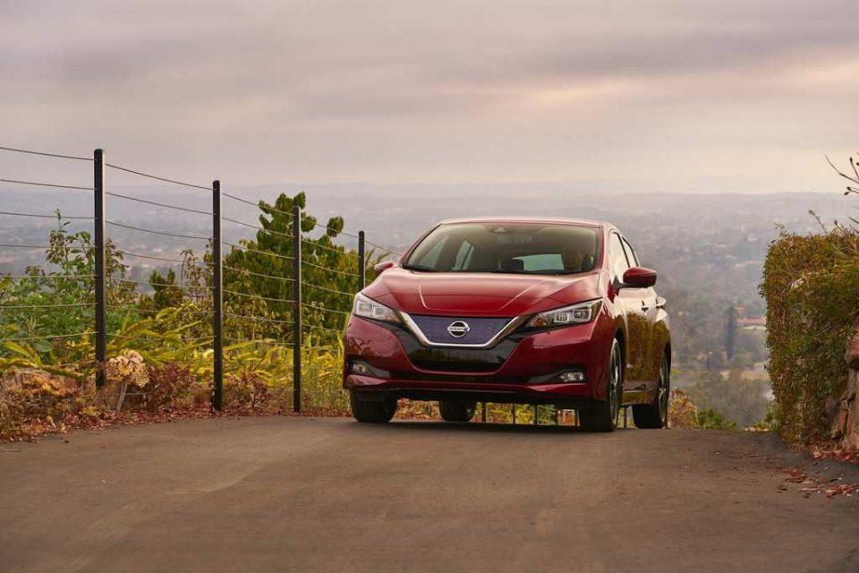 India-Bound Nissan Leaf Revealed 9