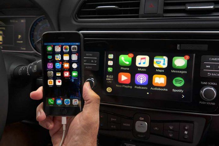 apple carplay google maps