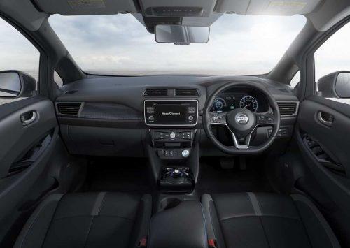 India-Bound Nissan Leaf Revealed Interior 2