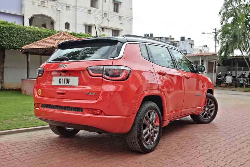 This Customised Jeep Compass Looks More Muscular And