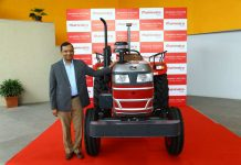 Mahindra Driverless Tractor India