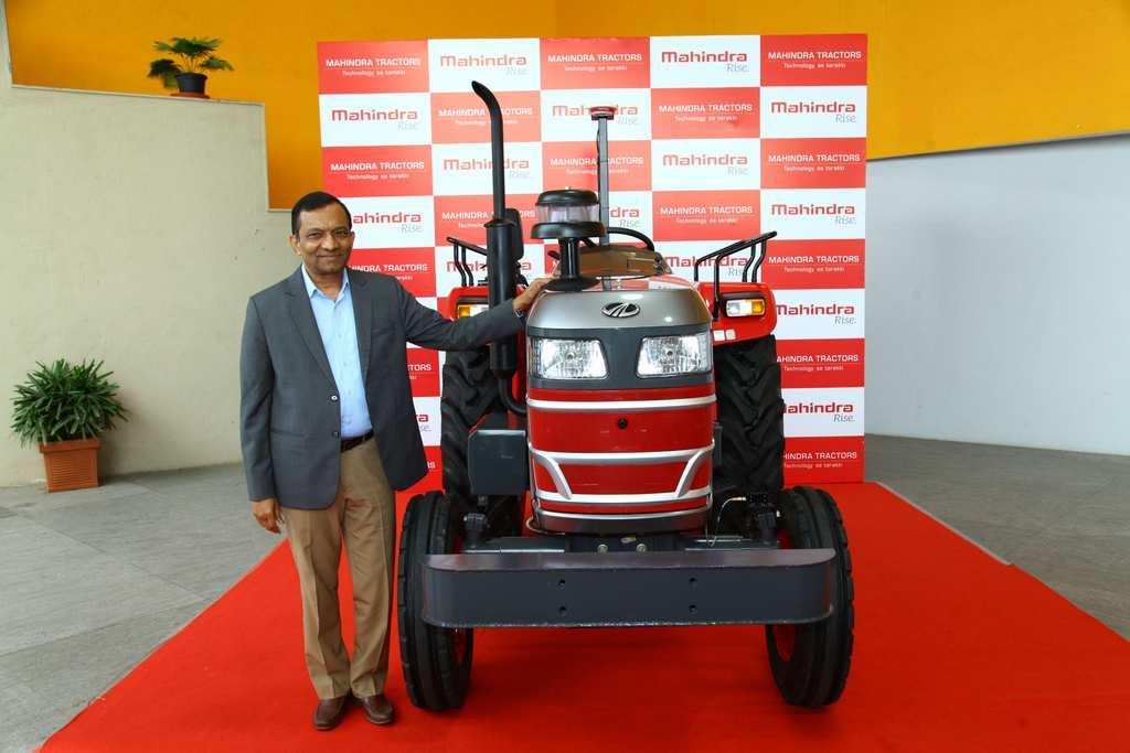 Mahindra Driverless Tractor India